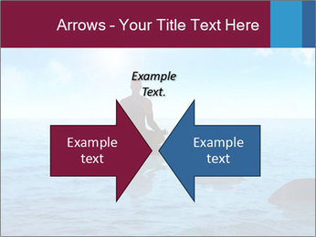 Silhouette PowerPoint Template - Slide 90