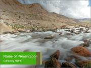Stream on the way PowerPoint Templates
