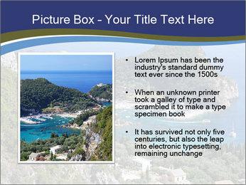 Greek island PowerPoint Template - Slide 13