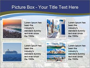 Greek island PowerPoint Template - Slide 14