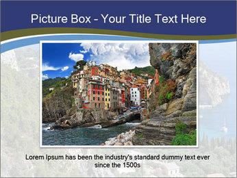 Greek island PowerPoint Template - Slide 15