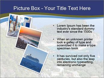 Greek island PowerPoint Template - Slide 17