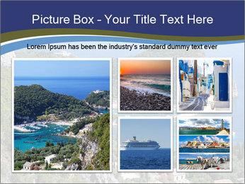 Greek island PowerPoint Template - Slide 19