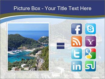 Greek island PowerPoint Template - Slide 21
