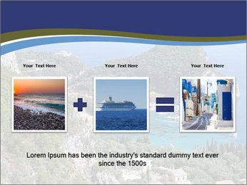 Greek island PowerPoint Template - Slide 22