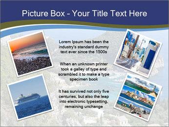 Greek island PowerPoint Template - Slide 24