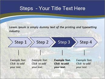 Greek island PowerPoint Template - Slide 4