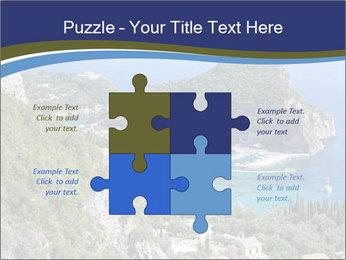 Greek island PowerPoint Template - Slide 43