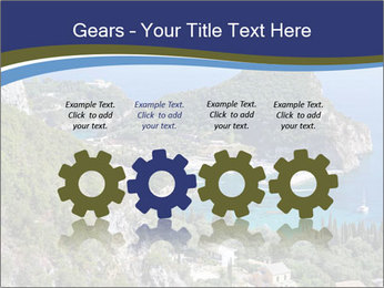 Greek island PowerPoint Template - Slide 48