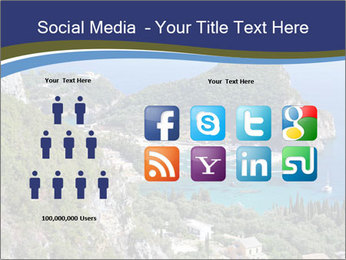 Greek island PowerPoint Template - Slide 5