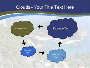 Greek island PowerPoint Template - Slide 72
