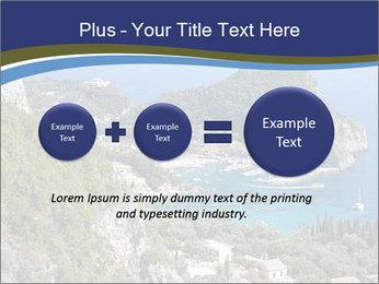 Greek island PowerPoint Template - Slide 75
