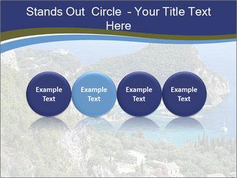 Greek island PowerPoint Template - Slide 76