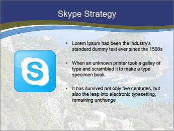 Greek island PowerPoint Template - Slide 8