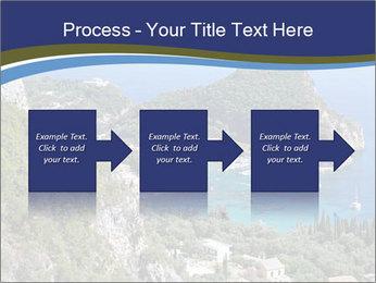 Greek island PowerPoint Template - Slide 88
