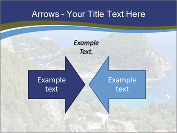 Greek island PowerPoint Template - Slide 90