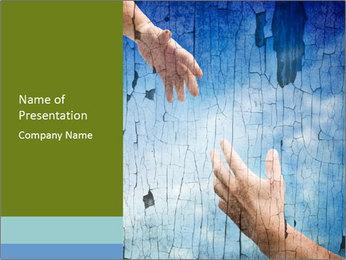 Helping hands PowerPoint Templates - Slide 1
