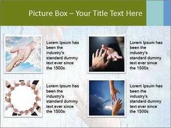 Helping hands PowerPoint Templates - Slide 14