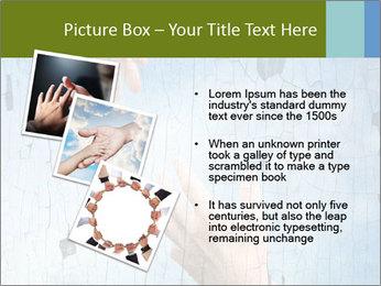 Helping hands PowerPoint Templates - Slide 17