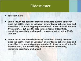Helping hands PowerPoint Templates - Slide 2
