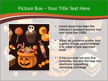 Colorful halloween sweets PowerPoint Template - Slide 13