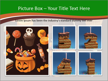Colorful halloween sweets PowerPoint Template - Slide 19