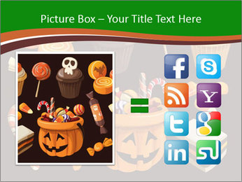 Colorful halloween sweets PowerPoint Template - Slide 21