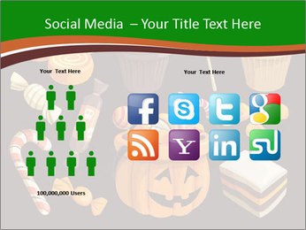 Colorful halloween sweets PowerPoint Template - Slide 5