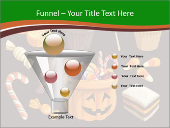 Colorful halloween sweets PowerPoint Template - Slide 63