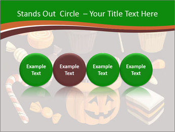 Colorful halloween sweets PowerPoint Template - Slide 76