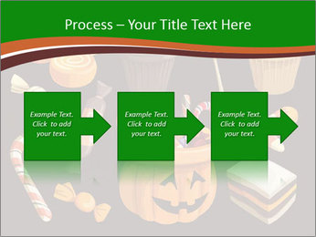 Colorful halloween sweets PowerPoint Template - Slide 88