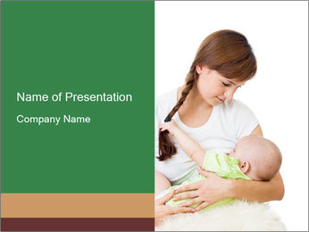 Mother PowerPoint Template - Slide 1