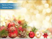 Christmas decoration PowerPoint Templates