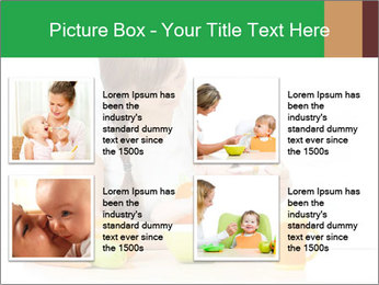 Young mother PowerPoint Template - Slide 14