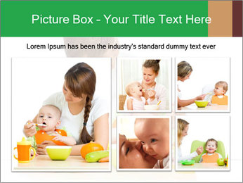Young mother PowerPoint Template - Slide 19