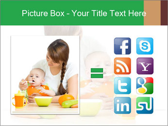 Young mother PowerPoint Templates - Slide 21