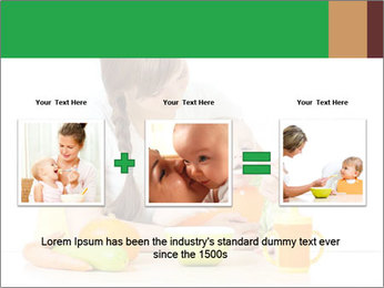 Young mother PowerPoint Template - Slide 22