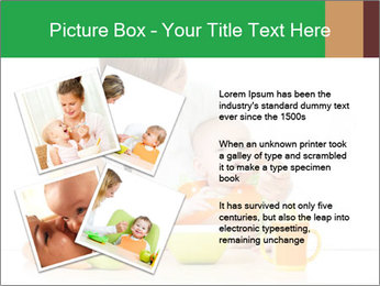 Young mother PowerPoint Template - Slide 23