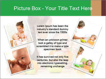 Young mother PowerPoint Template - Slide 24