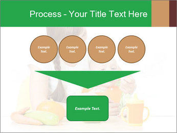 Young mother PowerPoint Template - Slide 93
