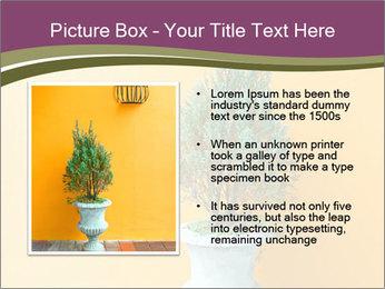 Green plants PowerPoint Templates - Slide 13