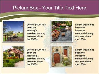 Green plants PowerPoint Templates - Slide 14
