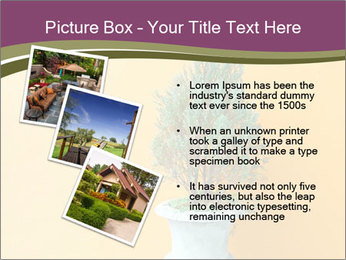 Green plants PowerPoint Templates - Slide 17