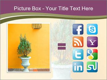Green plants PowerPoint Templates - Slide 21