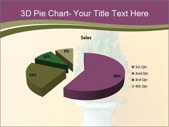 Green plants PowerPoint Templates - Slide 35