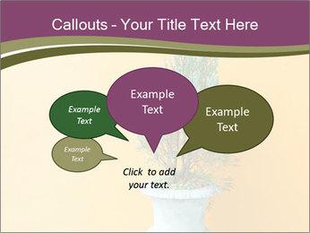 Green plants PowerPoint Templates - Slide 73