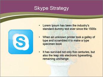 Green plants PowerPoint Templates - Slide 8