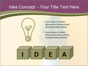 Green plants PowerPoint Templates - Slide 80