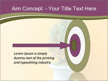 Green plants PowerPoint Templates - Slide 83