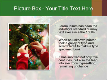 Child hanging decorative toy PowerPoint Templates - Slide 13